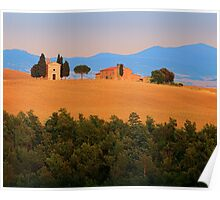 Val d'Orcia Serenity Poster