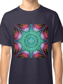 Beautiful morning, fractal abstract pattern design Classic T-Shirt