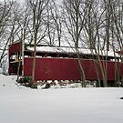 The Keefer Mill Pennsylvania Covered Bridge by Gene Walls