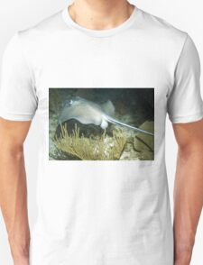 Stingray on a Night Dive Unisex T-Shirt