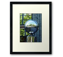 Landscape in the City Framed Print