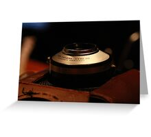 The Agfa Clack Greeting Card
