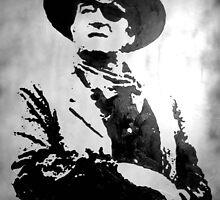 John Wayne by ladyAM