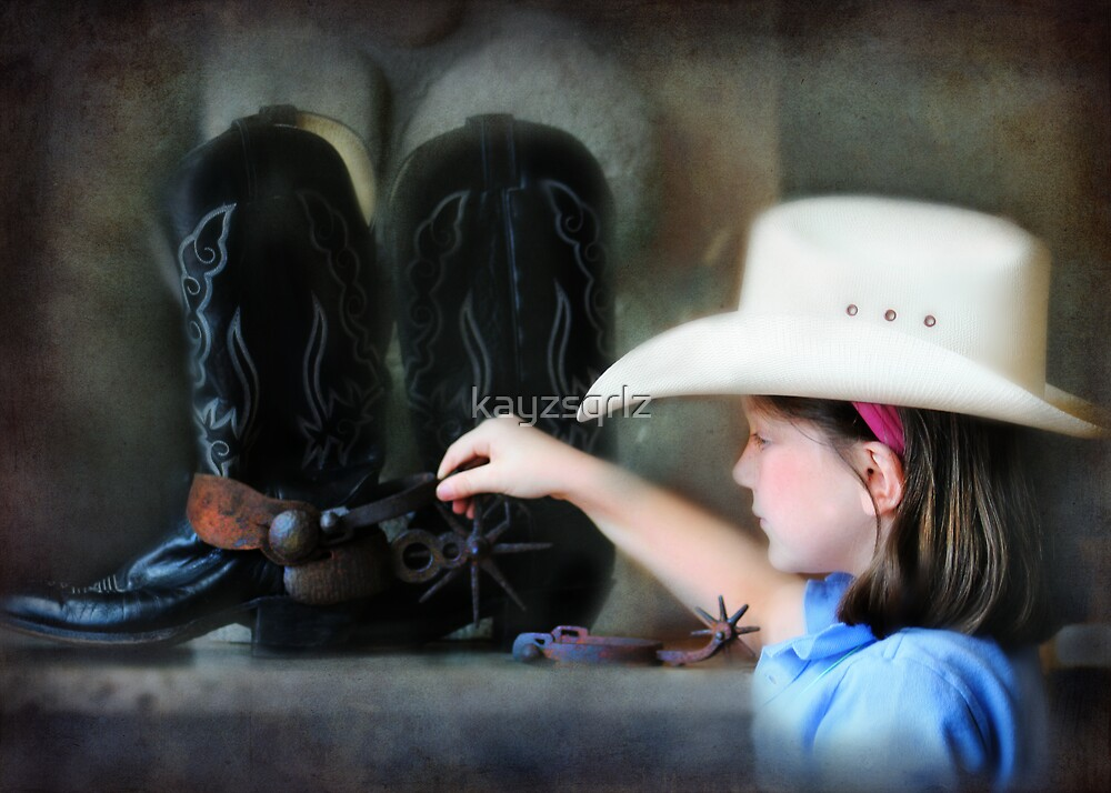 Two Spurs are Better Than One by kayzsqrlz