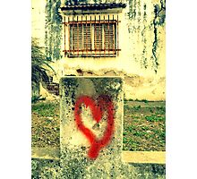 Love is all around! Photographic Print