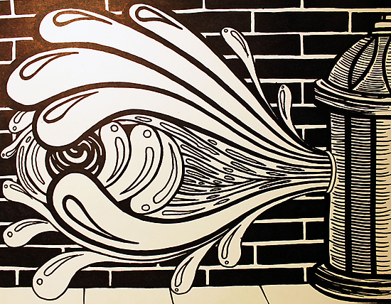 Watered Down Graffiti  by bcboscia410