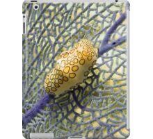 Flamingo Tongue Snail on Purple Coral Fan iPad Case/Skin