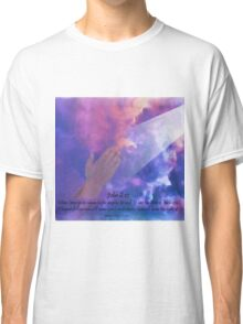 John 8:12 Prayings Hands Classic T-Shirt