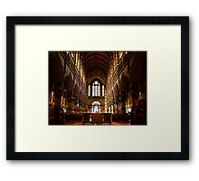 Historic Cathedral Framed Print
