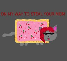 Neko-Kayoin coming to steal your mom by Tsukiss
