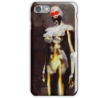Robot Queen by Sarah Kirk iPhone Case/Skin