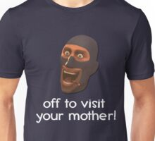 Off to visit your mother - Team Fortress 2 Unisex T-Shirt