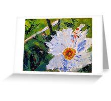 Big Flo (Acrylic Flower) Greeting Card