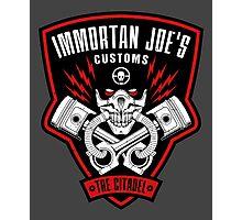 Immortan Joe's Customs Photographic Print