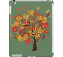Autumn orange tree iPad Case/Skin
