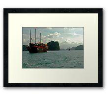 Halong Bay, Viet Nam Framed Print
