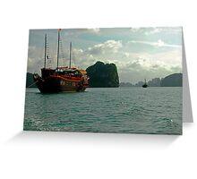 Halong Bay, Viet Nam Greeting Card