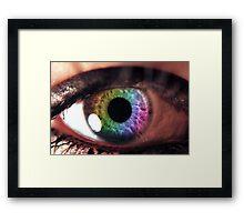 Spiritual Kloth EyeBe by Kordial Orange Framed Print