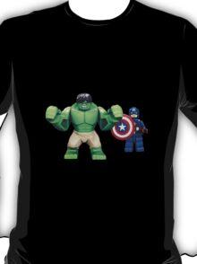 The HULK & Captain America T-Shirt