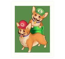 Plumber Pups Art Print