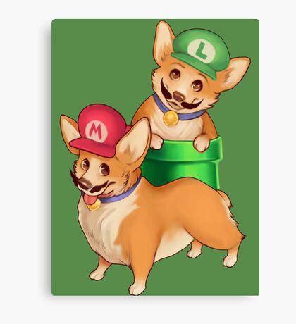 Plumber Pups Canvas Print