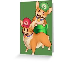Plumber Pups Greeting Card