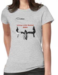 Cycling T Shirt - Life Behind Bars Womens Fitted T-Shirt