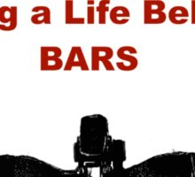 Cycling T Shirt - Life Behind Bars Sticker