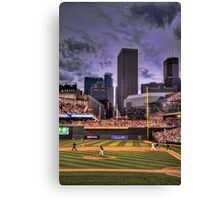 An Evening at Target Field Canvas Print