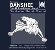 Banshee Service and Repair Manual One Piece - Short Sleeve