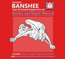 Banshee Service and Repair Manual Kids Tee