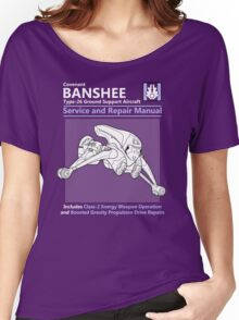 Banshee Service and Repair Manual Women's Relaxed Fit T-Shirt