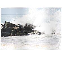 Waves crash : 3 Poster