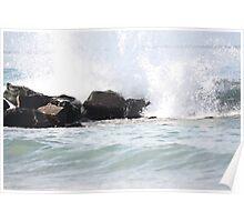 Waves crash : 2 Poster