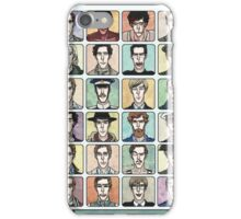 Benedict Cumberbatch Faces iPhone Case/Skin