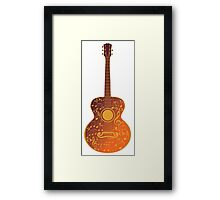 Guitar and Music Notes 5 Framed Print