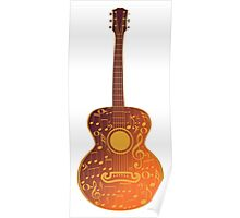 Guitar and Music Notes 5 Poster