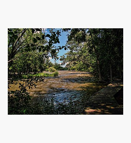 The Fox River Rising Photographic Print