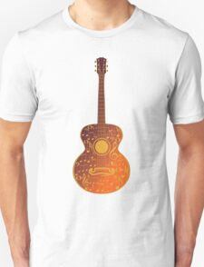 Guitar and Music Notes 5 Unisex T-Shirt