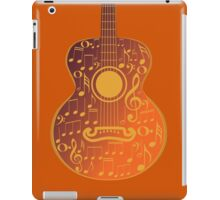 Guitar and Music Notes 5 iPad Case/Skin