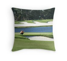 Golf Course in St Augustine  Throw Pillow