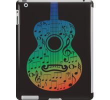 Guitar and Music Notes 6 iPad Case/Skin
