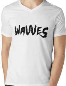 Wavves Mens V-Neck T-Shirt