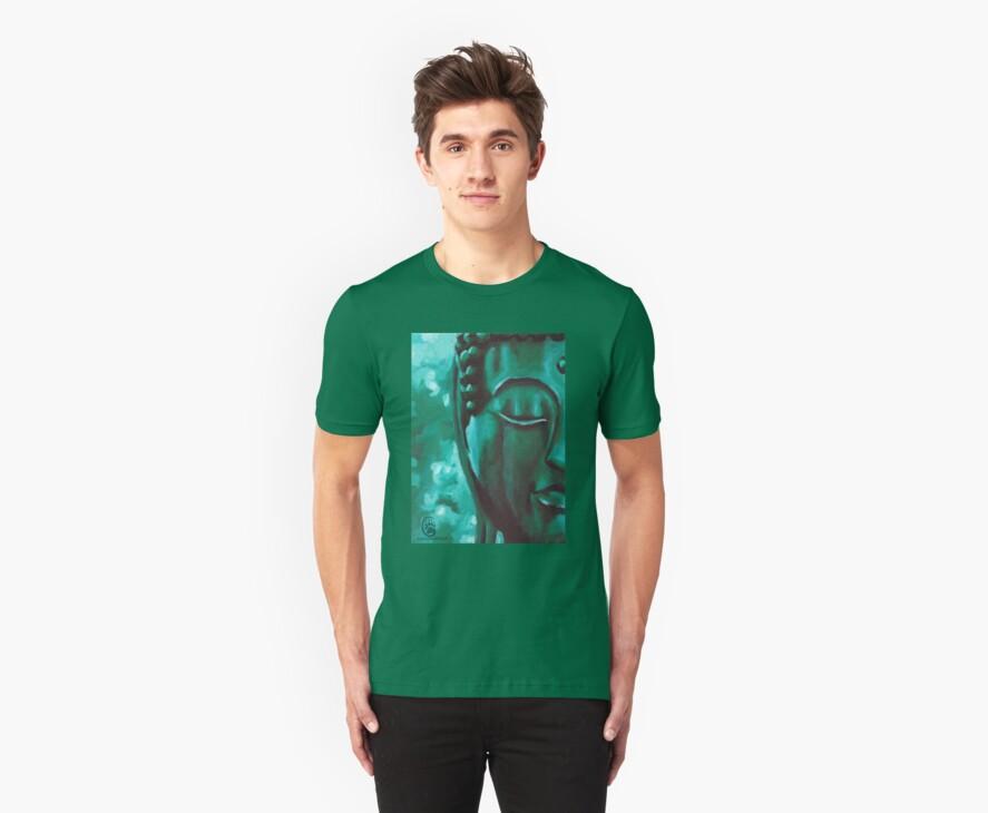 Green Buddha by MancerBear by mancerbear