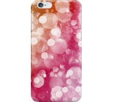 Abstract light background iPhone Case/Skin