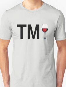 TM Wine (Black Ink/Red Wine) T-Shirt
