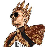 King Bill - Black Text by Nobodysart