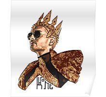 King Bill - Black Text Poster