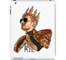 King Bill - Black Text iPad Case/Skin