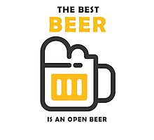The Best Beer Photographic Print